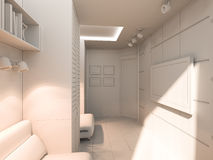 3D visualization of a child's room Royalty Free Stock Photo