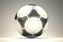 3d voetbalbal Stock Fotografie