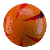 3d voetbalbal op witte achtergrond Royalty-vrije Stock Fotografie