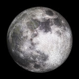 3D volle maan - geef terug Royalty-vrije Stock Afbeeldingen