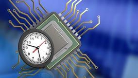 3d von CPU Stockfotografie