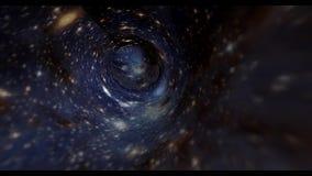 3D vortex animation. 4K resolution