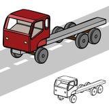 3d vrachtwagen Stock Afbeeldingen
