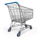 3 d wózka na zakupy ilustracji