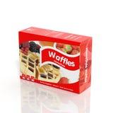 3D Waffles paper Stock Photos