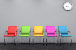 3D - waiting room 04 Royalty Free Stock Photography