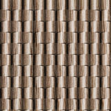 3D wall decorative tiles, Wood texture, Decorative paneling pattern Royalty Free Stock Image
