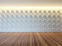 3d wall panel layout Royalty Free Stock Photography