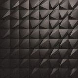 3d Wall Tiles / Panel. 3D/CG Illustration of Black Wall Tiles/Panel Stock Images