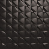 3d Wall Tiles / Panel. 3D/CG Illustration of Black Wall Tiles/Panel Stock Photo