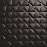3d Wall Tiles / Panel. 3D/CG Illustration of Black Wall Tiles/Panel Stock Photos