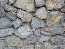 3d wallpaper design of stone wall. For photomural stock photo