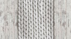 3d wallpaper, knit-effect texture wallpaper on white oak brushed background. This yarn-texture wallpaper offers a soft touch into the home and makes for a stock photo