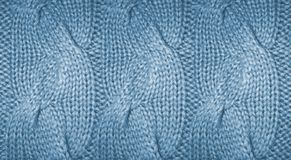 3d wallpaper, wool handmade knitted large blanket. Trendy concept. Close-up of knitted blanket, merino wool background royalty free stock image