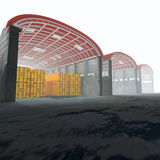 3d warehouse. Royalty Free Stock Images