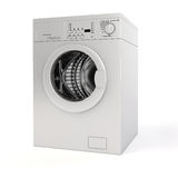 3d washing machine Royalty Free Stock Image