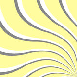 3d wave effect. Abstract background. Vector illustration. Good design Royalty Free Stock Photography