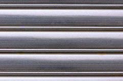Aluminum background Royalty Free Stock Photos
