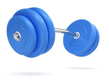 3d Weights side view Stock Images