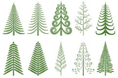 3D Weihnachtsbaum Stockbilder