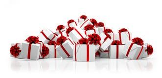 3d - Weihnachtsgeschenke Stockbild