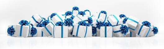 3d - Weihnachtsgeschenke Lizenzfreies Stockbild