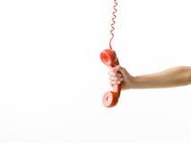 3D weinig menselijk karakter in een Call centre Stock Fotografie