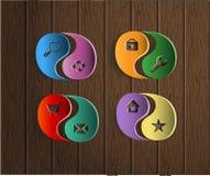 3D wektor ikona dla miejsca Fotografia Stock