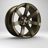3d wheel racing. Stock Photo