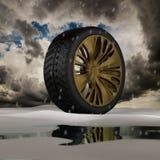 3d wheel. Stock Photos