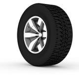 3d wheel. Royalty Free Stock Photo