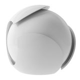 3d white abstract sphere Royalty Free Stock Images
