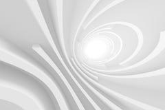 3d White Circular Construction Stock Photography