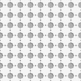 3D white eastern grid Stock Photo