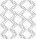 3D white and gray corners. Seamless geometric background. Modern monochrome 3D texture. Pattern with realistic shadow and cut out of paper effect.3D white and vector illustration