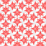 3D white pin will grid with striped floral leaves Stock Photography