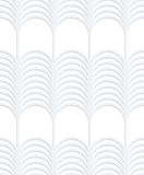 3D white striped vertical grid Stock Photo
