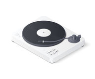 3D white turntable Royalty Free Stock Images