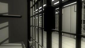 3d więzienie ilustracja wektor