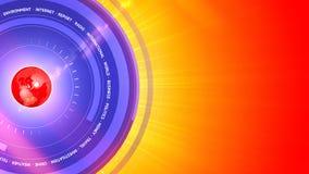 3D wiadomości Digital Graficzny Kolorowy tło Obrazy Royalty Free