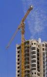 dźwigów budowlanych Zdjęcie Royalty Free