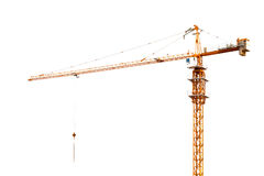 Dźwigowa budowa Zdjęcie Royalty Free