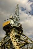 dźwigowy port Zdjęcie Royalty Free