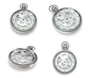3D winding watches Icon. 3D Icon Design Series. Royalty Free Stock Photos