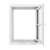 3d window frame Royalty Free Stock Photography