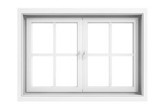 3d window frame Royalty Free Stock Photos