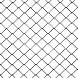 3d Wire Fence Black Plastic Royalty Free Stock Image