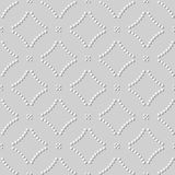 3D Witboekkunst om Kromme Dot Cross Line stock illustratie