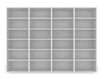 3d witte lege plank Royalty-vrije Stock Afbeeldingen