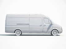 3d Witte Levering Van Icon Vector Illustratie